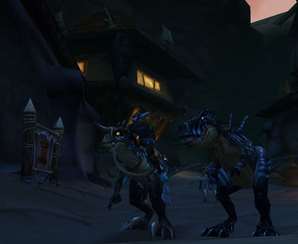 Dark Streets of Orgrimmar, mount with pet glitch and the former Drachenstein FTW